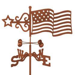 US Flag Weathervane