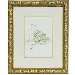 Petit Moi Frog Framed Print