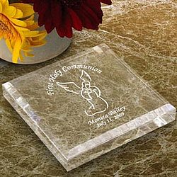 Personalized Guardian Angel Keepsake and Paperweight