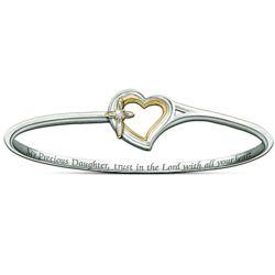 My Precious Daughter Faith and Love Bracelet