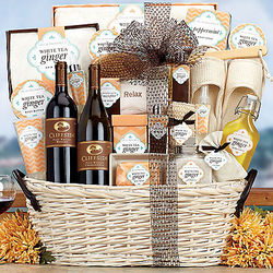 Rock Falls Vineyards Spa Extravaganza Gift Basket