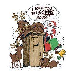 Schmidt House Santa T-Shirt