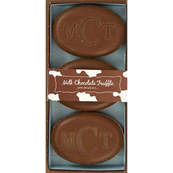 Milk Chocolate Truffle Personalized Soaps