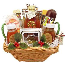 Wisconsin Gourmet Assortment Holiday Gift Basket