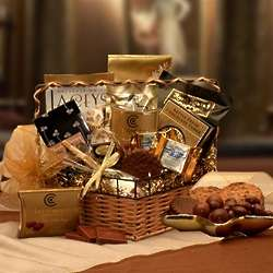 Chocolate Treasures Gift Basket