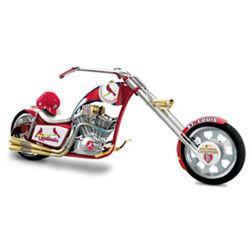 Commemorative 2011 World Series St. Louis Cardinals Chopper