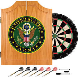US Army Dart Cabinet with Great Seal