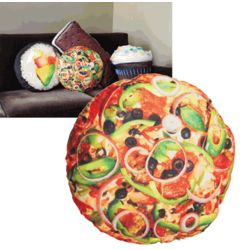 Yummy Pizza Pillow