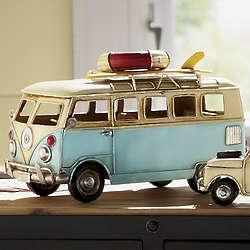 Vintage Bus Figurine