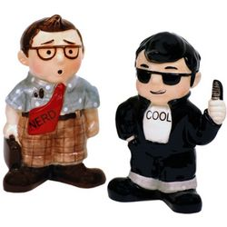 Alter Ego Salt and Pepper Shakers
