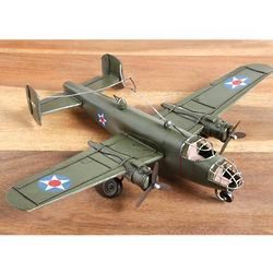 B-25 Bomber World War II Metal Sculpture