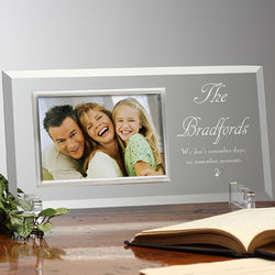 We Remember Moments Personalized Frame