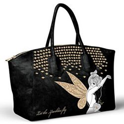 Disney Tinker Bell Let The Sparkles Fly Handbag