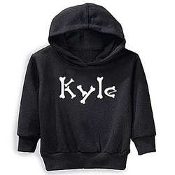 Personalized Halloween Glow in the Dark Youth Hoodie