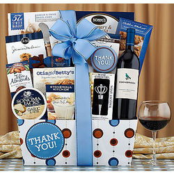 Edenbrook Cabernet Thank You Gift Basket