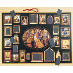 Madonna and Child Advent Calendar