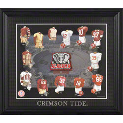 Evolution Alabama Crimson Tide Framed Print