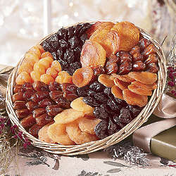 Dried Fruit Harvest Gift Tray