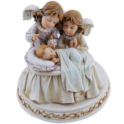 Baby with Angels Lullaby Figure