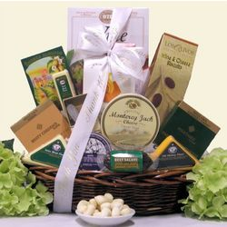 Administrative Professionals Day Cheese Gift Basket