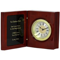 Book of Life Personalized Desk Clock