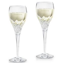 Sophia Cut Crystal Wine Glass Set