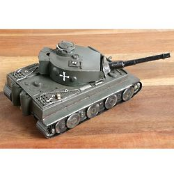 Armored Tank World War II Metal Sculpture
