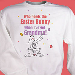 Who Needs the Easter Bunny Youth Sweatshirt