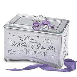 A Mother and Daughter's Love Is Forever Personalized Music Box