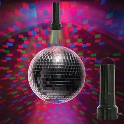 Totally Disco LED Mirror Ball Light Show