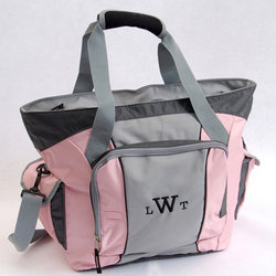 Personalized Pink Sport Bag