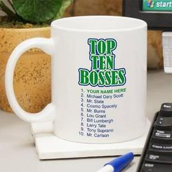 Top Ten Boss Mug