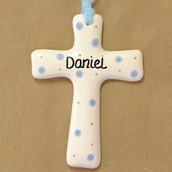Personalized Ceramic Cross