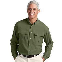 Men's Travel Shirt with UPF 50