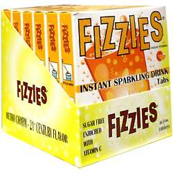 Orange Fizzies Candy Drink Tablets