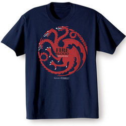 Targaryen Game of Thrones Navy Shirt