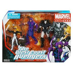 The West Coast Avengers Action Figures