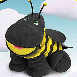 Bizzy the Bee with Secret Hidden Pockets