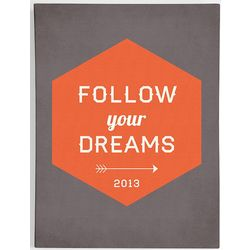 Follow Your Dreams Framed Art Canvas