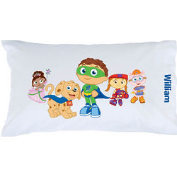 Super Why Pals and Pup Pillowcase