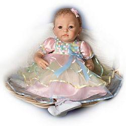 Lifelike Baby Ella Girl Doll