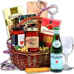 Gourmet Italian Food Gift Basket