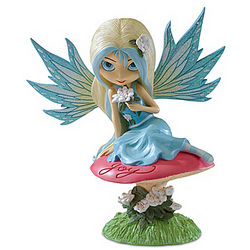 Joy Outdoor Fairy Garden Sculpture