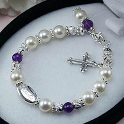 Vintage Antoinette Grow-With-Me Freshwater Pearl Bracelet