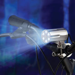 Theft Resistant LED Bicycle Light