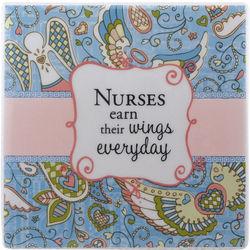 Nurses Earn Their Wings Everyday Tile Gift