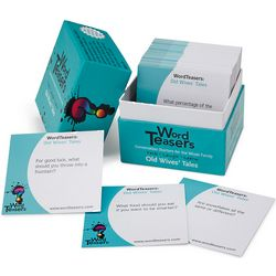 Old Wives' Tales Word Teasers Trivia Game