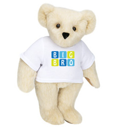 "15"" Big Brother T-Shirt Bear"