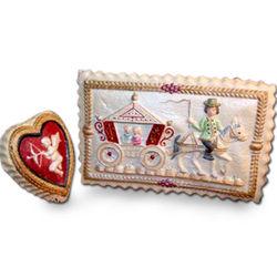 Valentine's Day Romance Cookie Gift Tin