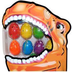 6 Piece Hatching Dinosaur Egg Set